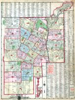 Index Map, Los Angeles 1910 Baist's Real Estate Surveys
